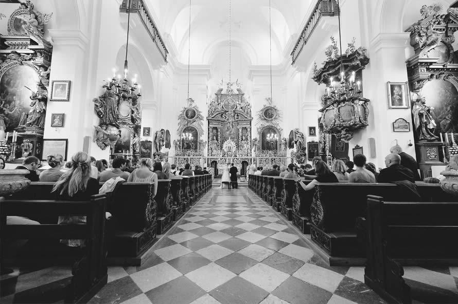 Trauung in der Kirche Maria Plain