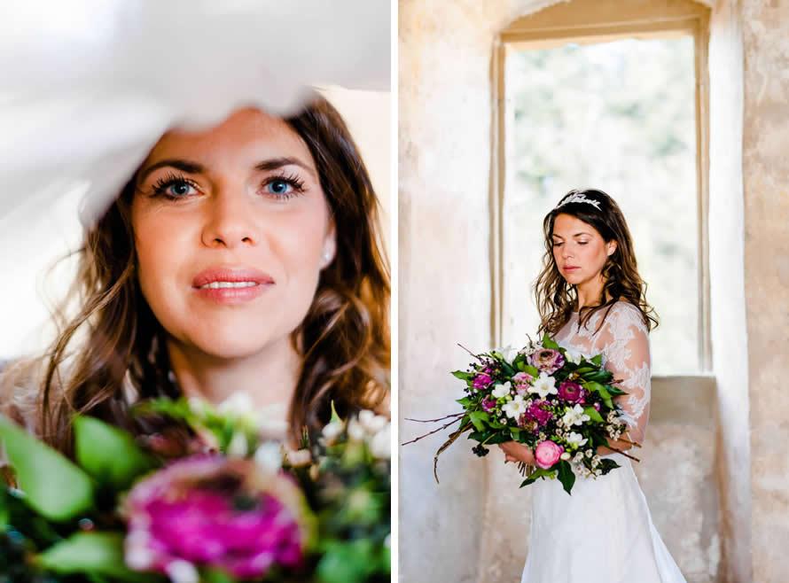 wundervolles Brautportrait