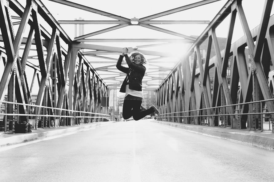 Katja hüpft
