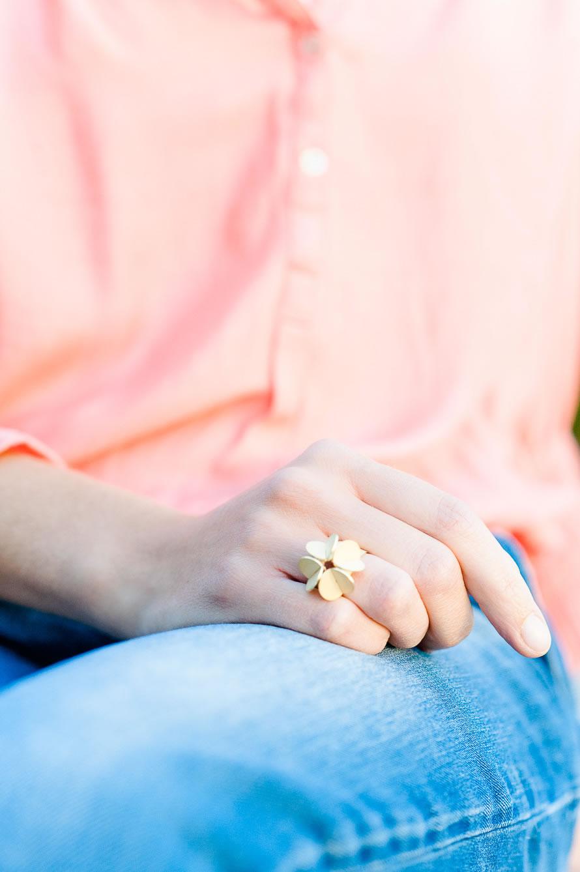 wunderschöner goldener Ring designt von Johanna Otto